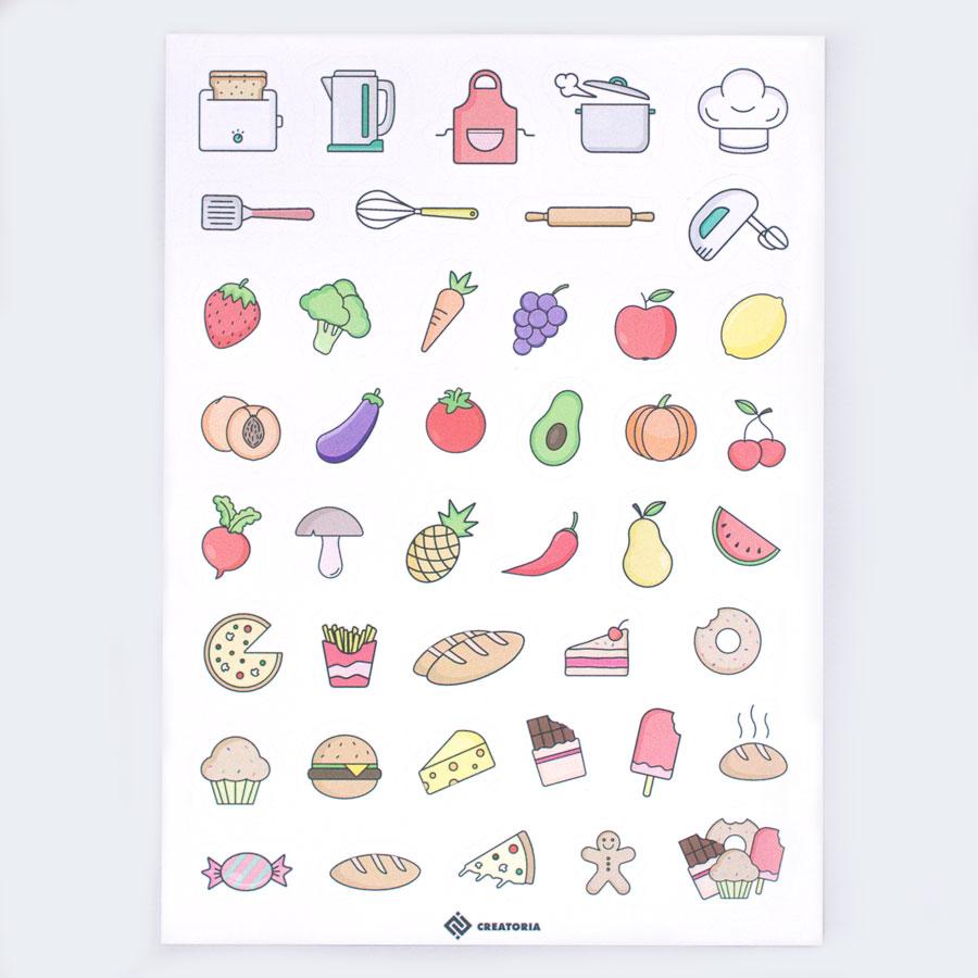 готварски стикери gotvarski stikeri tefter za recepti